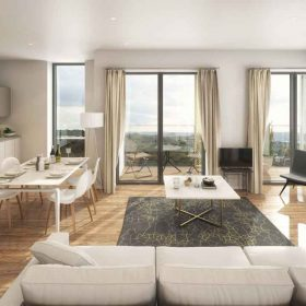 FANTASTIC LIGHT-FILLED APARTMENTS WITH WRAP AROUND WINDOWS AND VIEWS