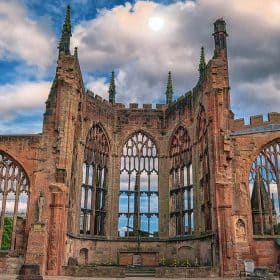Coventry is a huge university centre with around 54,000 students.