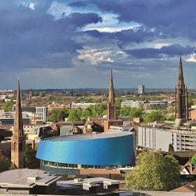 Upcoming schemes include expanding the new business district at Friargate and relaunching the huge City Centre