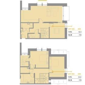 The Address ,Three beds