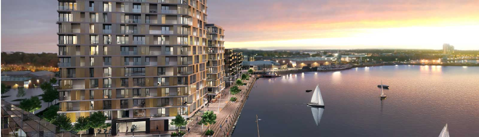 A GLOBAL REPUTATION FOR LUXURIOUS AND STYLISH WATERSIDE DEVELOPMENTS