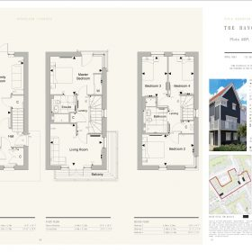1,316 SQ FT 3bedroom